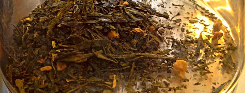 zenzero e limone tè verde