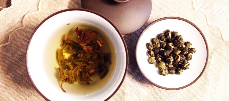 tè Jasmine dragon phoenix pearl