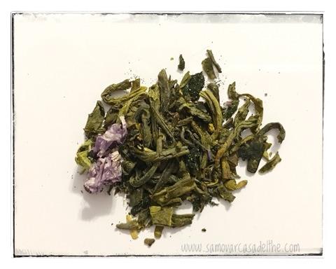 tè verde aloe